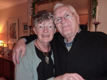 My lovely mum and dad