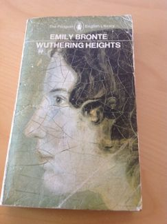 I probably should have returned my copy of Wuthering Heights to school.