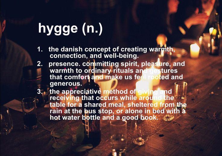 Resultado de imagen de hygge