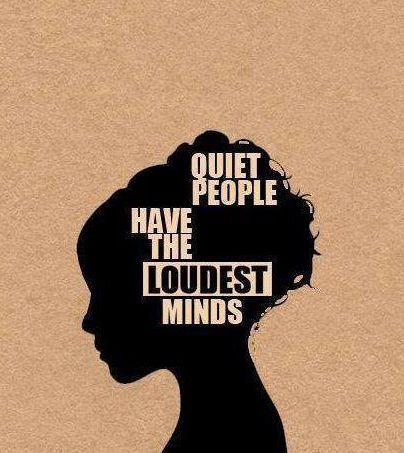quiet woman